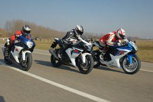 3 moto de course